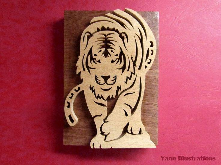 1000 id es sur le th me intarsia wood patterns sur pinterest motifs menuiserie scie - Modele sculpture sur bois gratuit ...