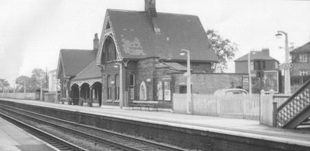 Flixton Station 1960