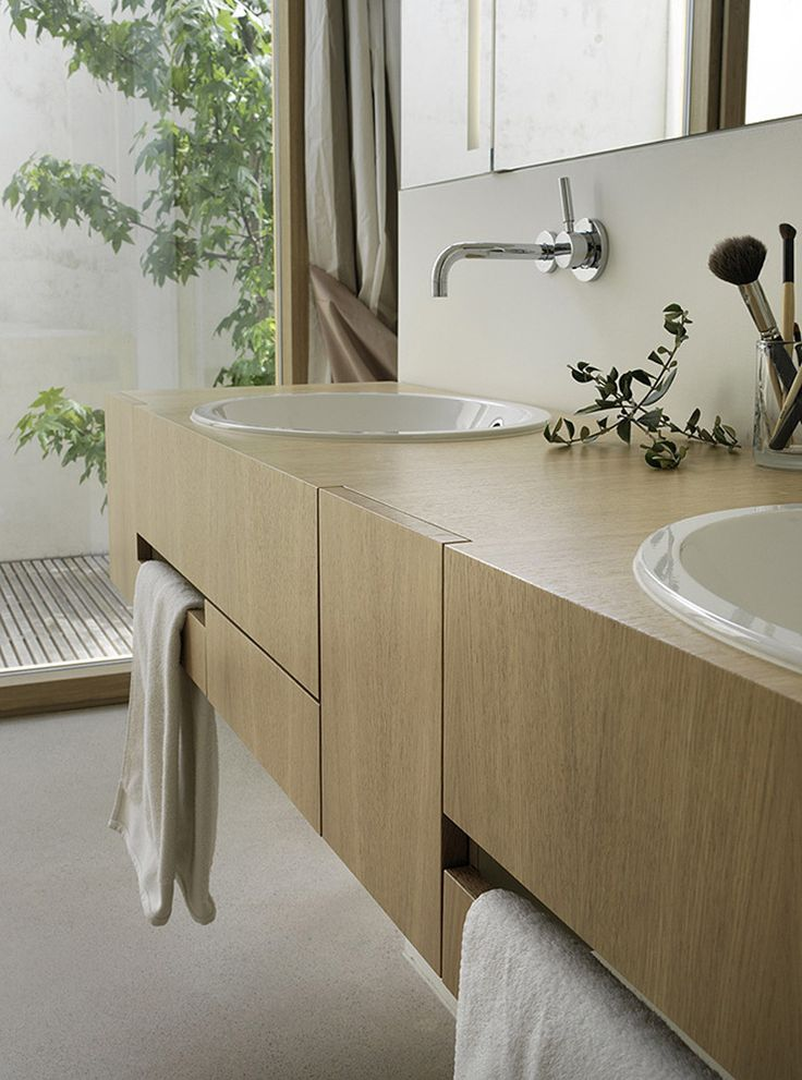 Wood Details - Bathroom