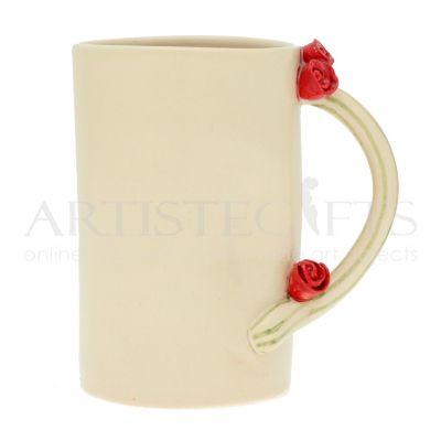 ΚΚούπα Κεραμική Εκρού Με Τριαντάφυλλα Αποκτήστε το online πατώντας στον παρακάτω σύνδεσμο http://www.artistegifts.com/koupa-keramiki-ekrou-triantafylla.html