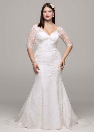 286 best Plus Size {Wedding Dresses} images on Pinterest