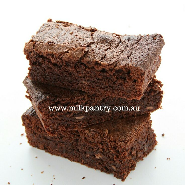 Double chocolate lactation brownie... Yum!