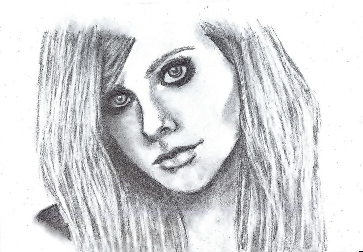 Avril Lavigne by Nanabananaa.deviantart.com on @DeviantArt