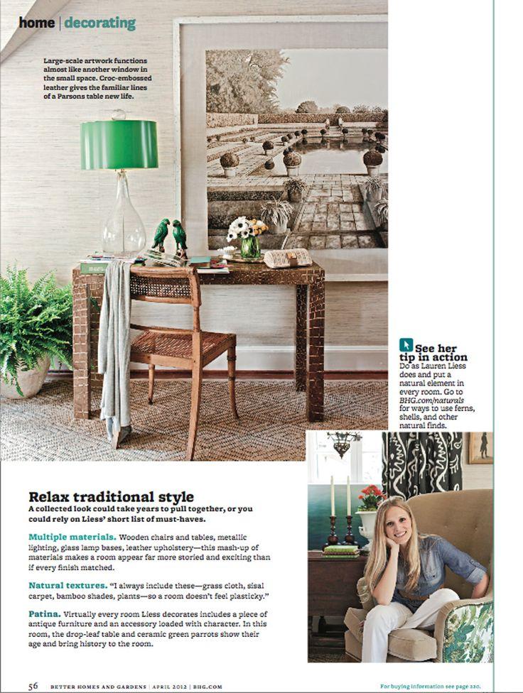 Design Lauren Liess Photo Helen Norman From Better Homes And Gardens Lamp Parrots