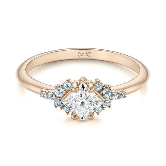 Engagement Ring 101 What's Your Ideal Diamond Ring Shape | Princess Cut | Joseph Jewelry #diamondrings