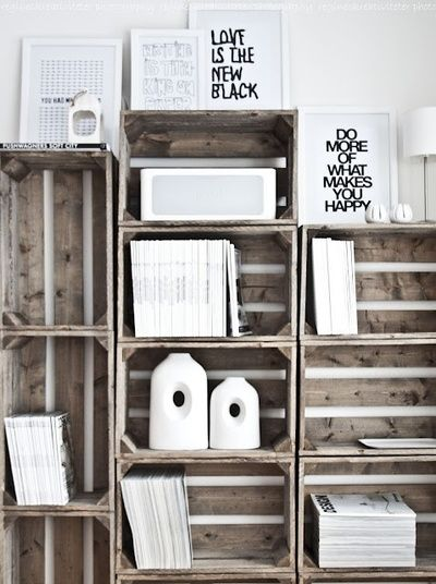 .DIY. Wooden crates. Fruit box. Wooden box. Cajas de madera. Caja de madera. Vintage. Old. Deco. Flowers. Eco deco. Decoration. Forniture. www.enkaja.es