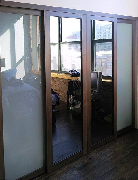Modern Glass Closet Doors For Your Home