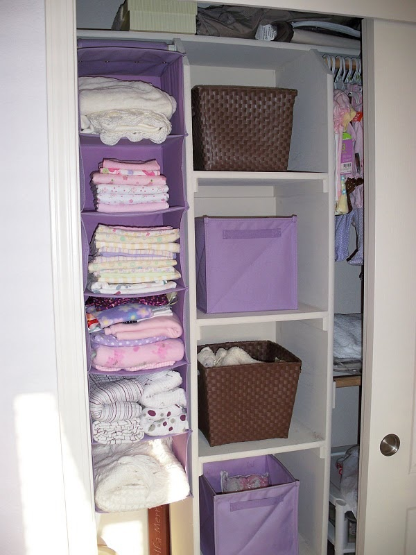 Blanket Storage Baby Ideas Pinterest Closet