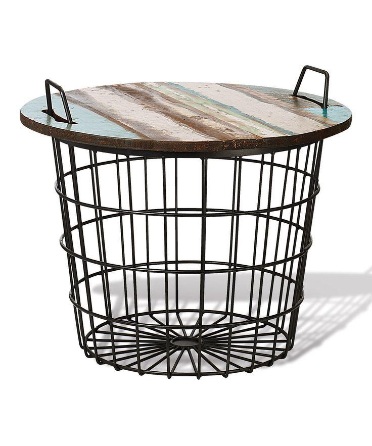 Basket Table Zulily Furniture Decor Modern Furniture