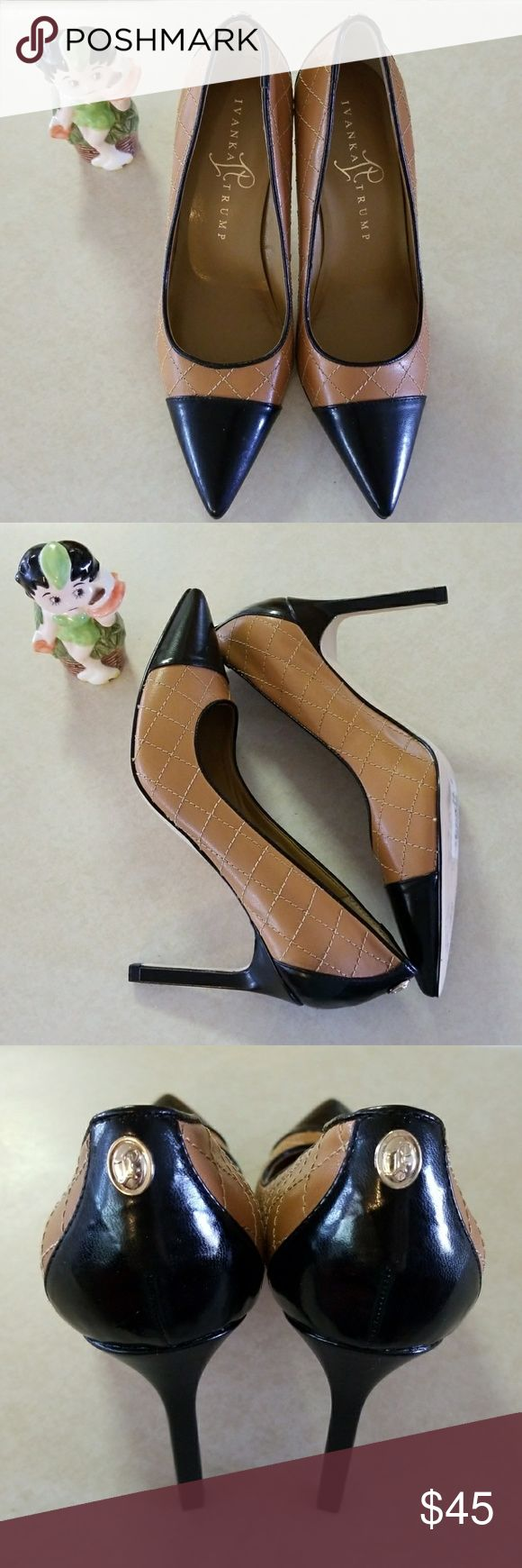 Ivanka Trump High Heels 6.5 NEW classic design, new, with some sticker residue. bundle and save. Ivanka Trump Shoes Heels