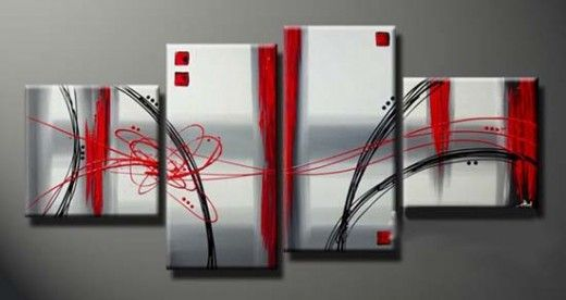 Canvas+Painting+Ideas+Abstract | Canvas Art A Newest Development In The Field Of Painting