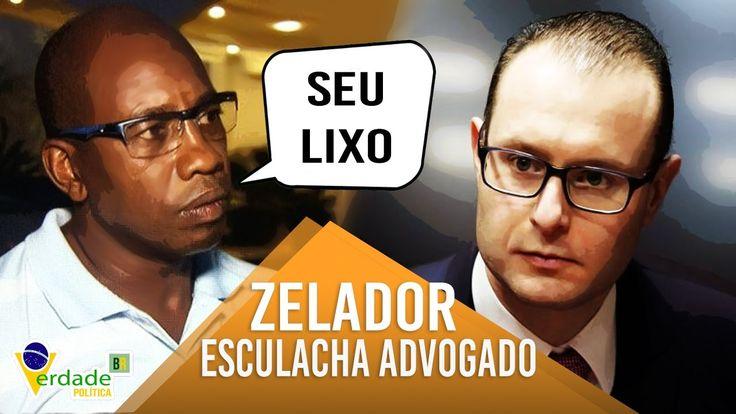 Zelador do TRILEX chama LULA e ADVOGADOS de LIXO em audiência e lava a a...