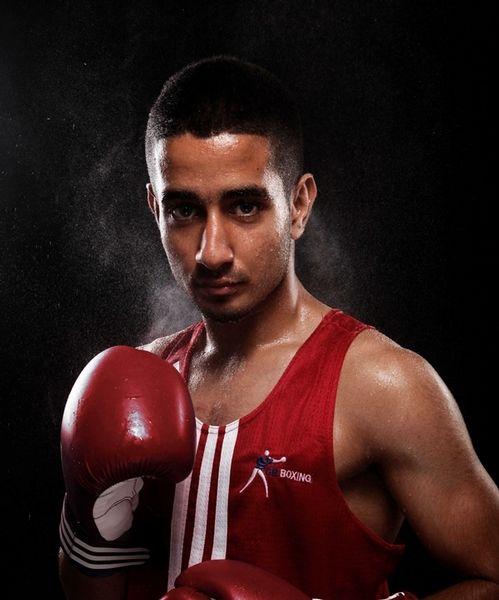 Qais Ashfaq - Boxing. Bantamweight.