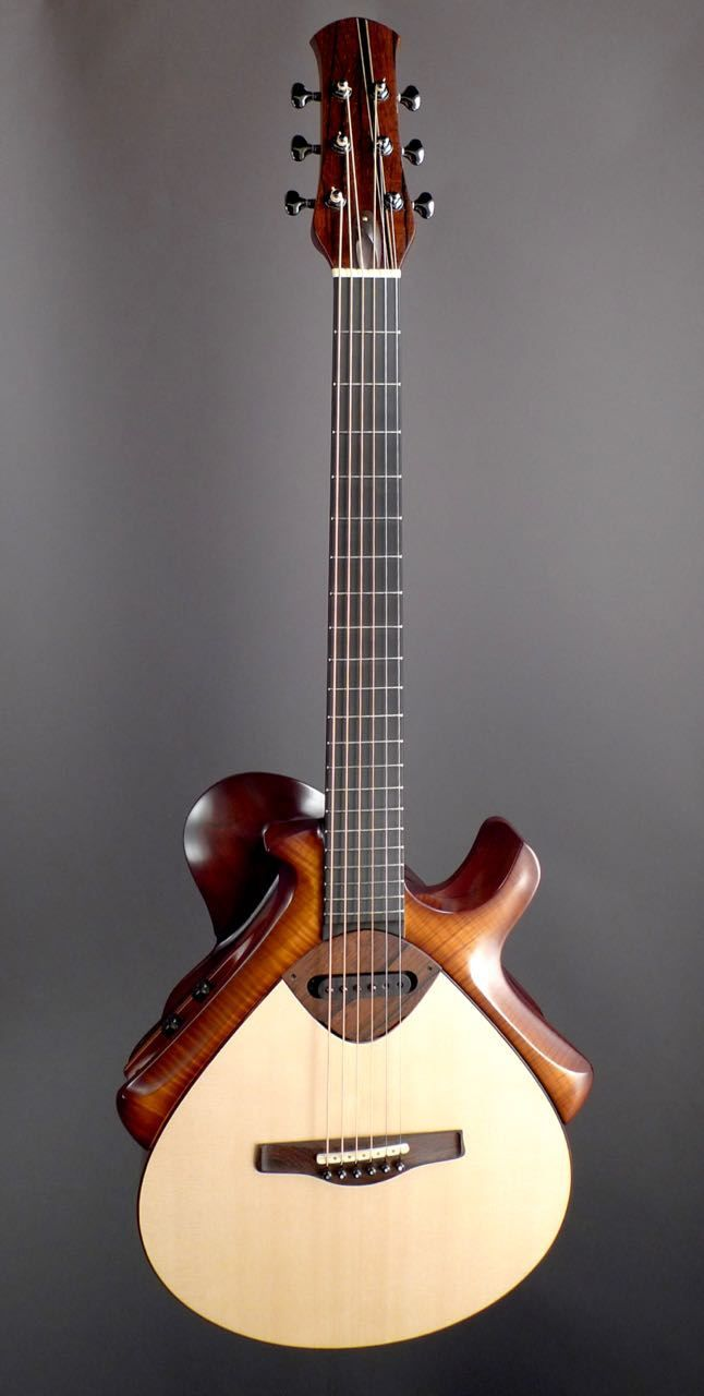 Matsuda Hybrid Modern Mojo Guitars Guitar Custom Acoustic Guitars Best Acoustic Guitar