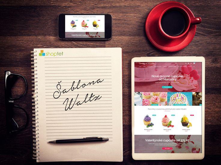 Něco pro vás v Shoptet pečeme. Kdo by si dal třeba novou šablonu pro svůj e-shop? Jmenuje se Waltz a bude k nakousnutí! www.shoptet.cz/sablony/