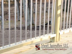 Stratospindle benefits,steel spindles, steelspindles.com, steel balusters, stainless steel balusters, deck spindles, deck balusters, metal balusters, metal spindles, contemporary balusters,