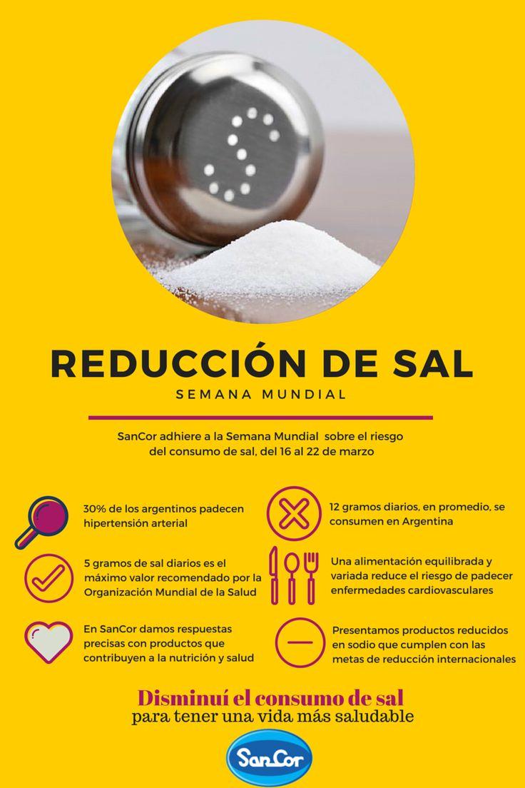 Reducción de sal