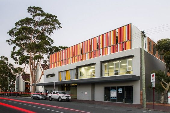 Foyer street front - Central Institute of Technology Leederville campus