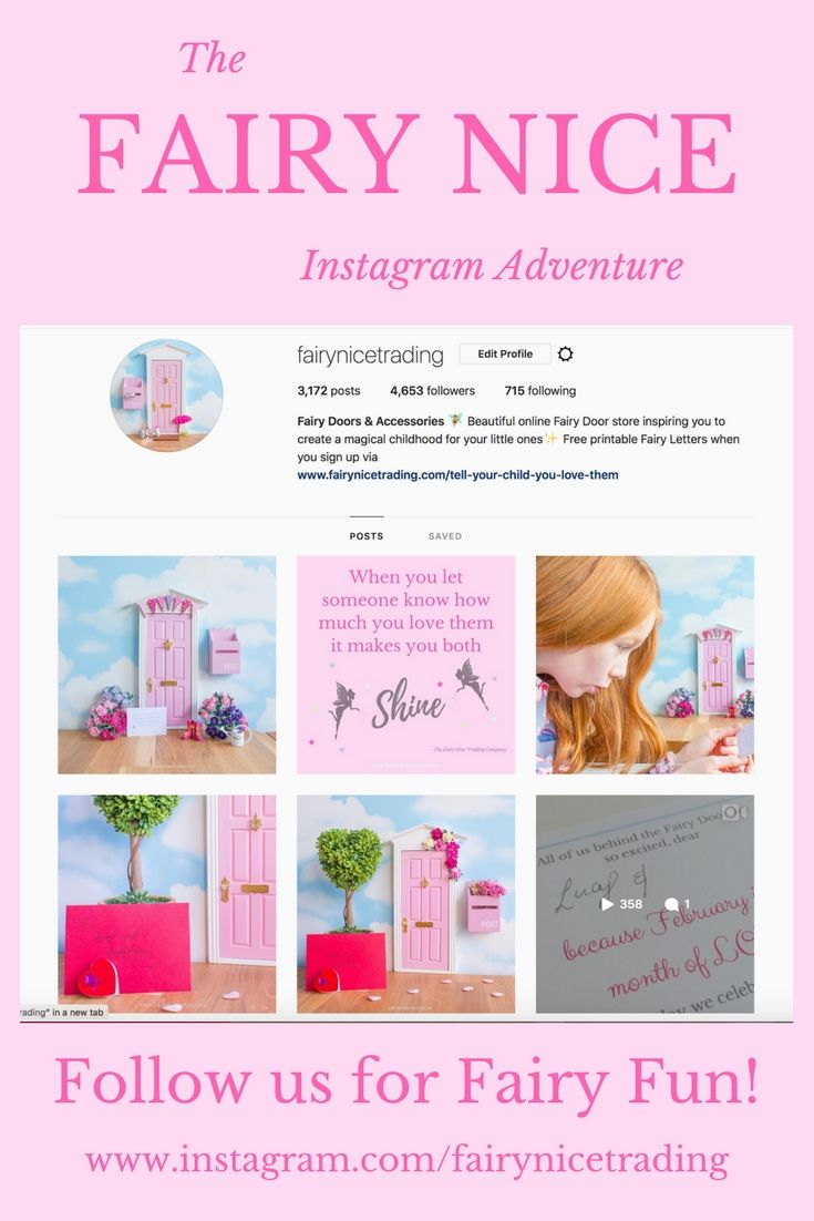 You can join us on all sorts of magical adventures through the Fairy Door on Instagram. Come follow us ...