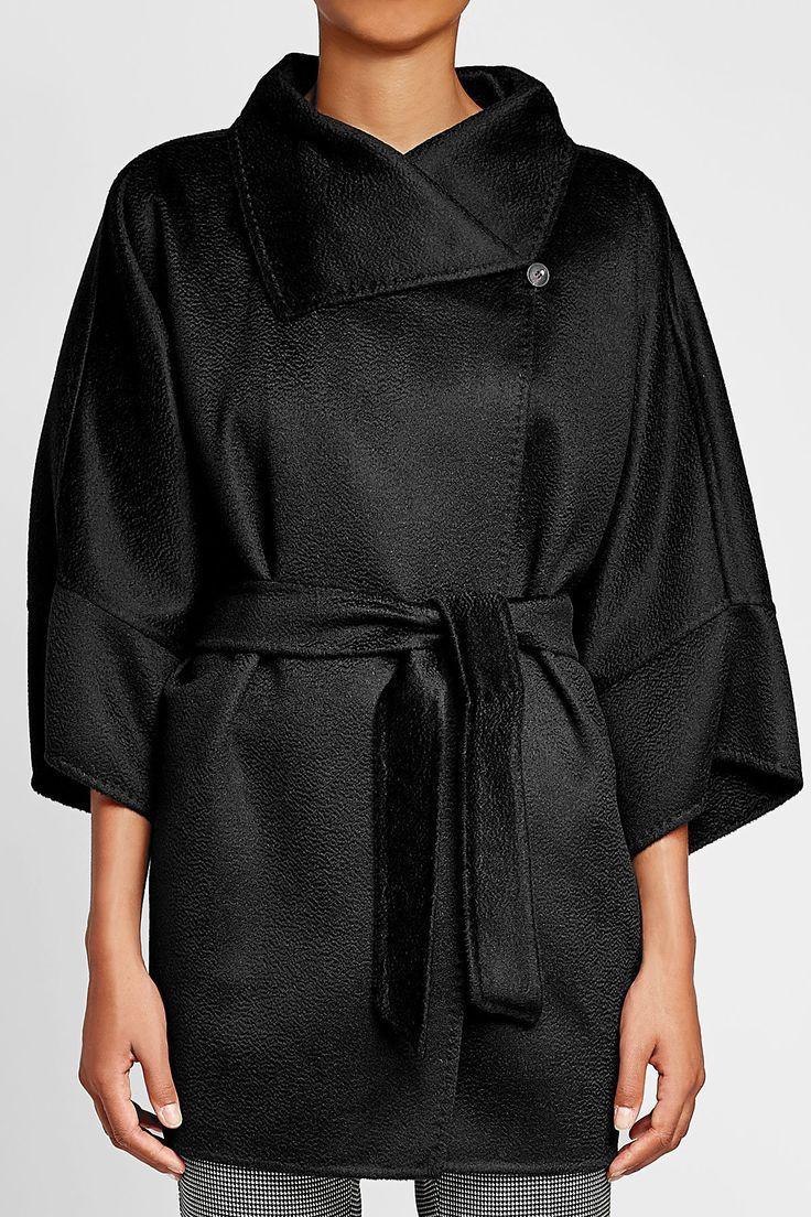 Belted Wool Jacket - Max Mara | WOMEN | IT STYLEBOP.COM