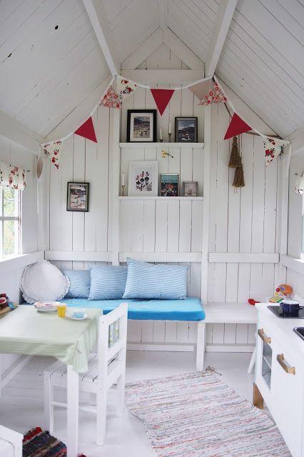 Mamma i Form: Renoverad och pimpad lekstuga med Ikea barnkök