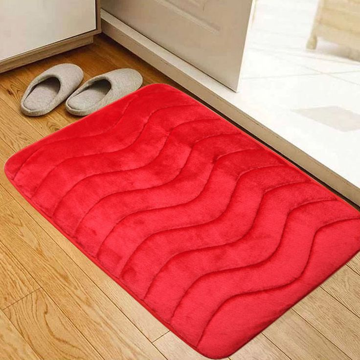Red Towels Bathroom: 52 Best Images About Red Bathroom Rugs On Pinterest