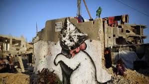 Image result for banksy gaza strip