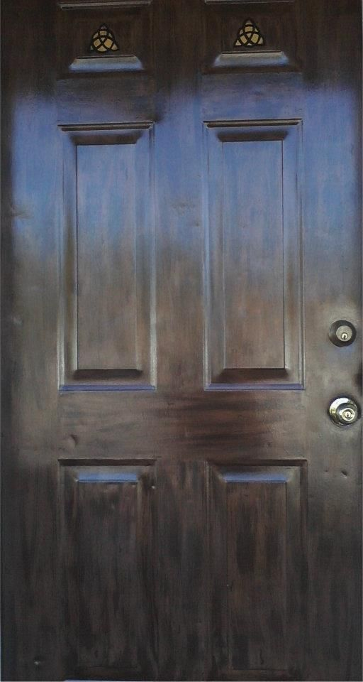 17 best images about distressed steel doors on pinterest for Paint for steel doors