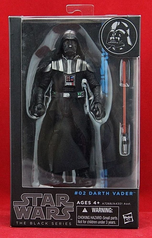 "Darth Vader Star Wars the Black Series Authentic Hasbro 6"" Action Figure New #Hasbro"