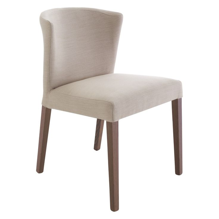VALENTINA Cream upholstered dining chair