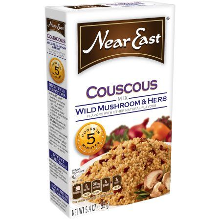 Near East Couscous Wild Mushroom & Herb, 5.4 OZ