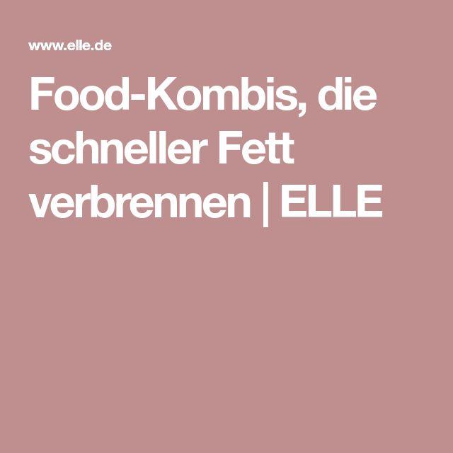 Food-Kombis, die schneller Fett verbrennen | ELLE