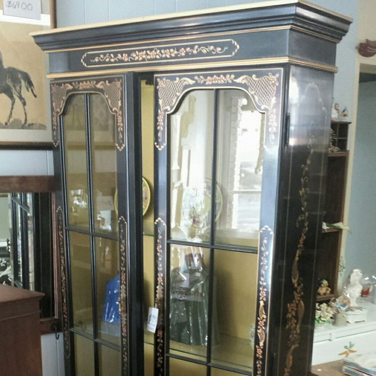 Stunning vintage Chino series china cabinet for sale in our Etsy Shop.                                                                                                                                                      More