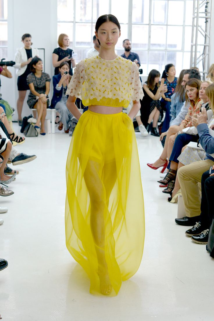 This Is The Prettiest Show We've Seen All Week, Hands Down #refinery29  http://www.refinery29.com/delpozo-fairy-tale#slide15