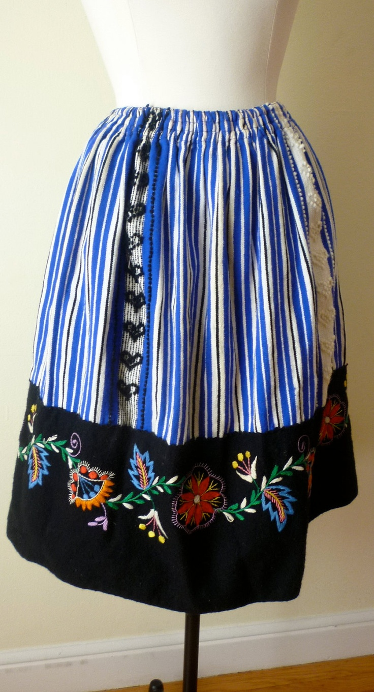 Portuguese traditional skirt