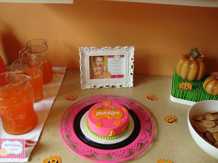 Simply Sarah Style: Little Pumpkin Birthday Party