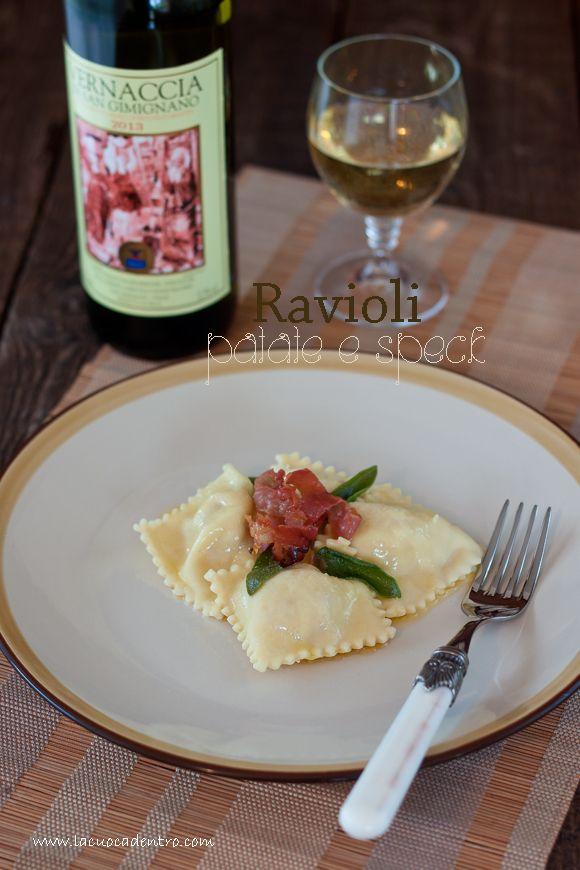 La Cuoca Dentro: Ravioli patate e speck