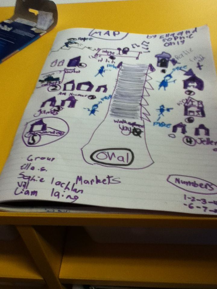Look what we did!A map of the markets!        Ella s