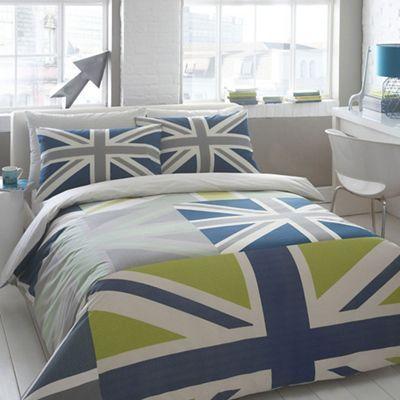 51 best lukes bedroom images on pinterest bedroom bedrooms and dorm ben de lisi home blue union jack bedding set debenhams gumiabroncs Choice Image