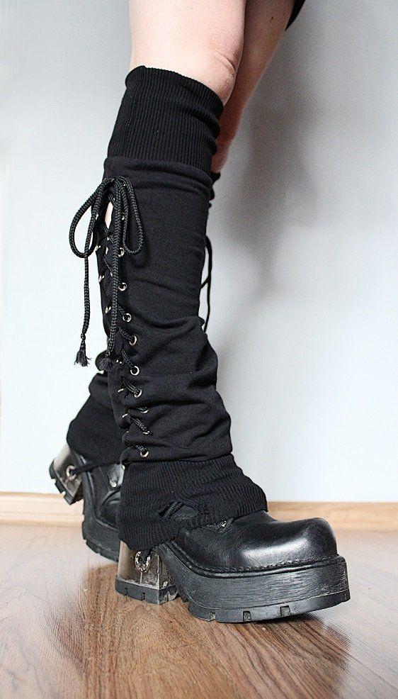Image of Black Legwarmers (3)