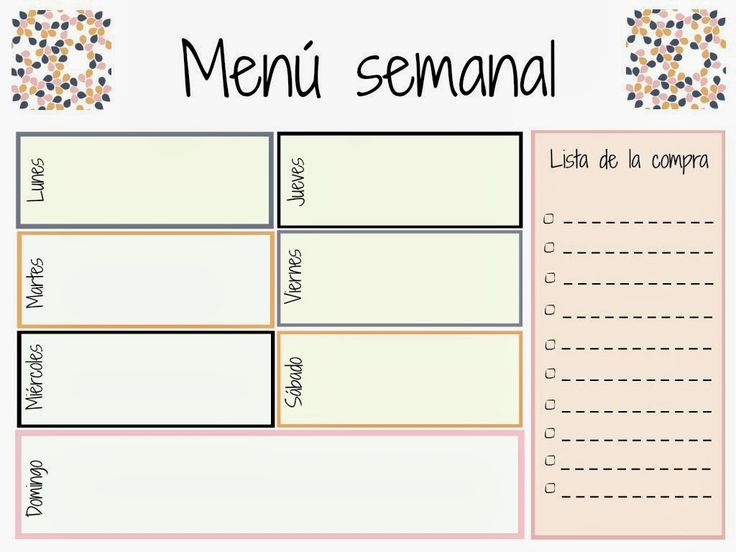 Ms de 25 ideas increbles sobre Agenda semanal imprimible en