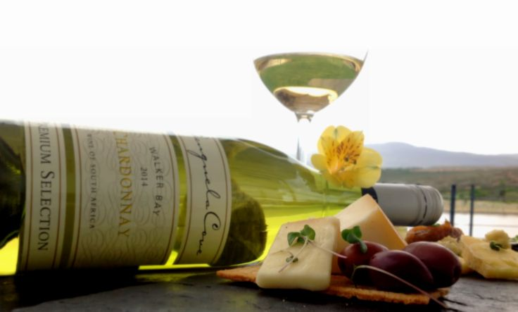 Benguela Cove Chardonnay & Matured Boerenkaas from Doornkraal Cheese Factory, Cullinan