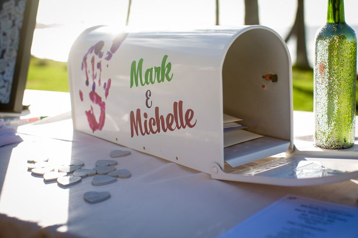 Custom Disney UP mailbox used as wedding gift card box. Coordination services by LVL Events at Scripps Seaside Forum. Photo by Salgado Images.