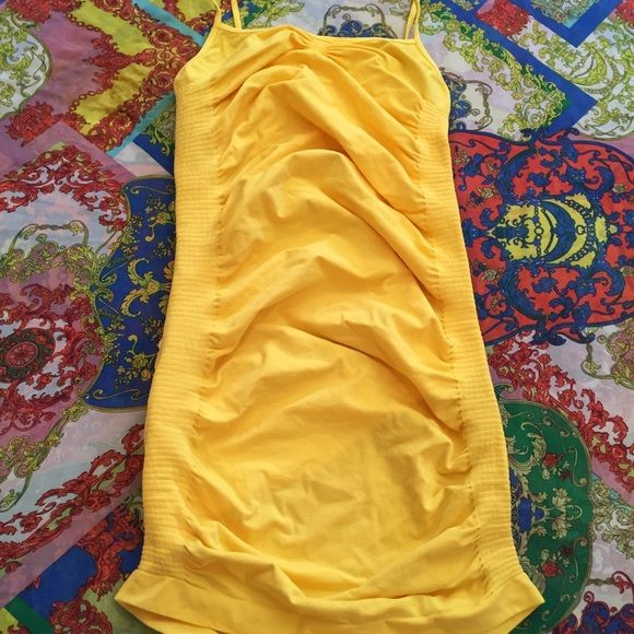 Yellow camisole One size fits most Stretch Camisole Ruched Cami Tops Camisoles