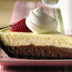 Philadelphia 3-step Double-chocolate Layer Cheesecake. Doubled the ...