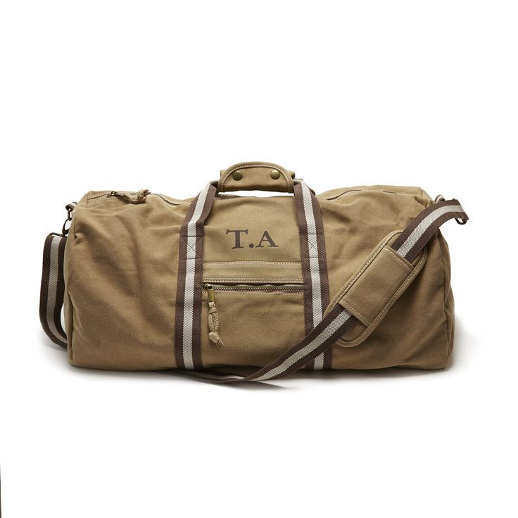 Personalised Weekend Holdall Bag | All By Mama