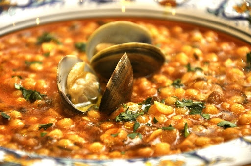 Fregola (also called fregula) is a kind of pasta, typical of Sardinia