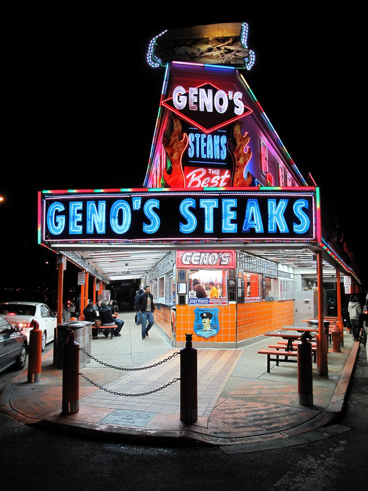Philadelphia, the age old question Geno's or Pat's