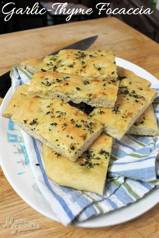 Disappearing Garlic Focaccia Bread Recipe