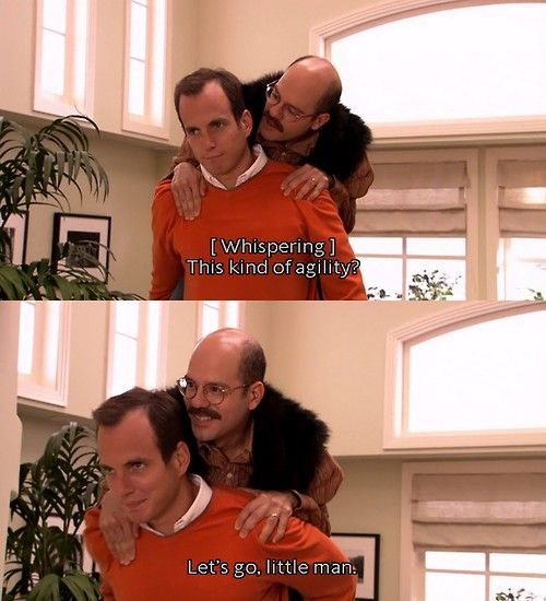 Arrested Development: Gob and Tobias for the win! :)